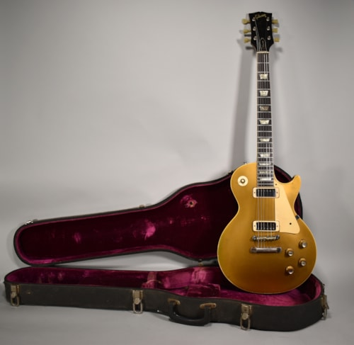 1970 Gibson Les Paul Deluxe Goldtop Original Vintage Electric Guitar w/ OHSC
