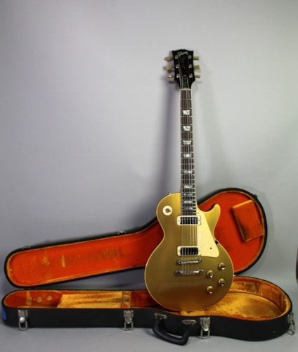 1970 Gibson Les Paul Deluxe Goldtop Vintage Electric Guitar w/OHSC