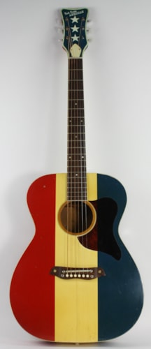 1970 Harmony Buck Owens American Red, White & Blue, Excellent, Soft, $2,999.00