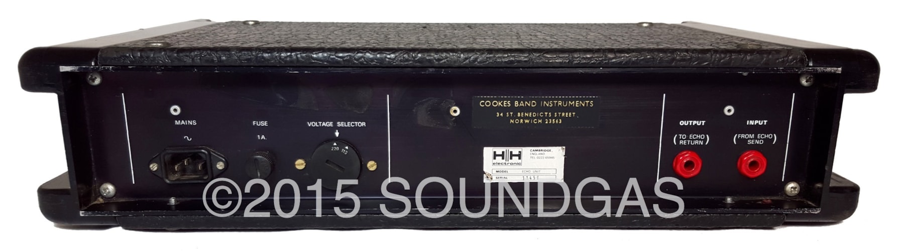 1970 H|H Electronic Echo Unit Very Good, $940.00