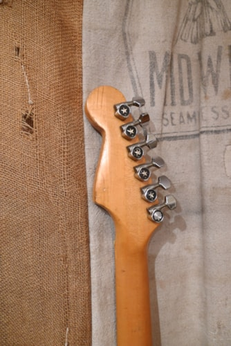 1970 Ibanez Lawsuit Era Strat Sunburst, Very Good, GigBag, $650.00