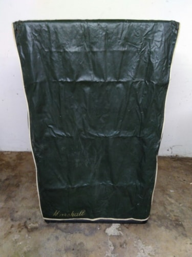 1970 Marshall Basket Weave Tall 4x12 100w Model #2032 w/ cover Black, Very Good, $2,675.00