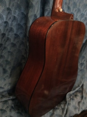 1970 Martin D-18 Natural acoustic guitar with Pickup
