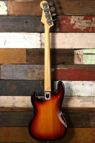 1970 Univox 1970's P-Bass Sunburst Excellent