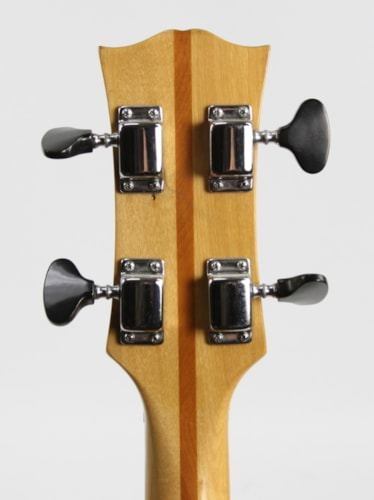 1970 Univox Semi-Hollow Bass Sunburst, Very Good, $499.00