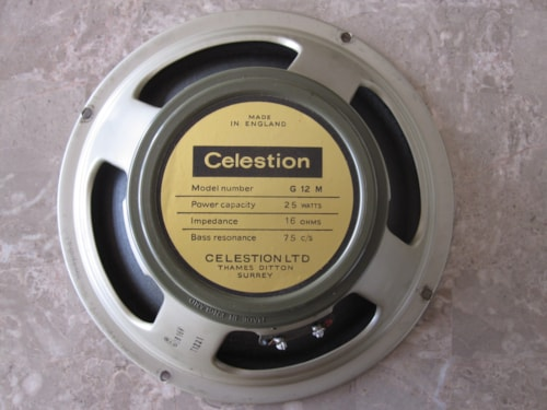 1970 VINTAGE CELESTION G12M G12H GREENBACKS IN STOCK Excellent, Call For Price!