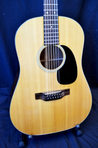 1971 C.F. Martin D12-20 Natural,, Excellent, Original Hard