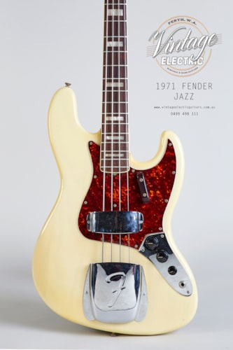1971 Fender Jazz See Through Blonde