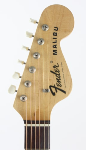 1971 Fender® Malibu Natural, Excellent, Original Hard, $999.00