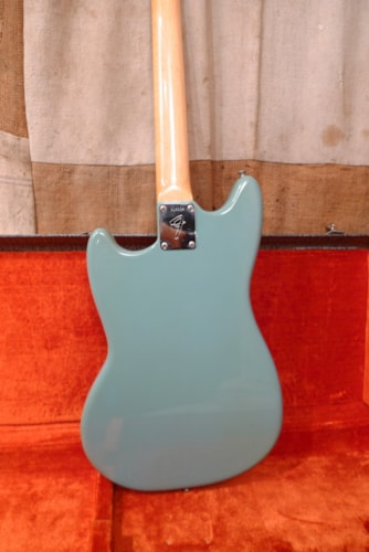 1971 Fender® Musicmaster™ Blue, Excellent, Original Hard, $1,450.00