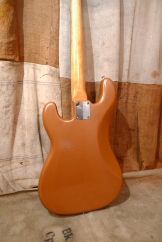 1971 Fender Precision Bass Copper - Refin, Very Good, Hard, $2,050.00