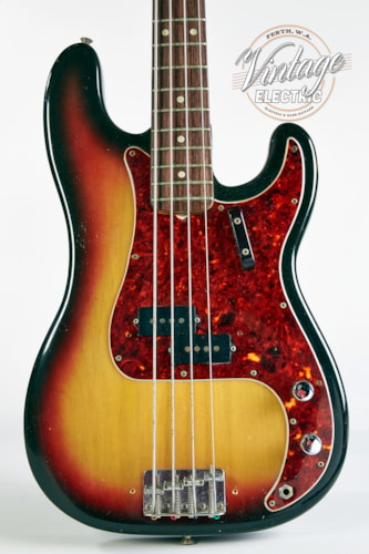 1971 Fender Precision Bass Three Tone Sunburst