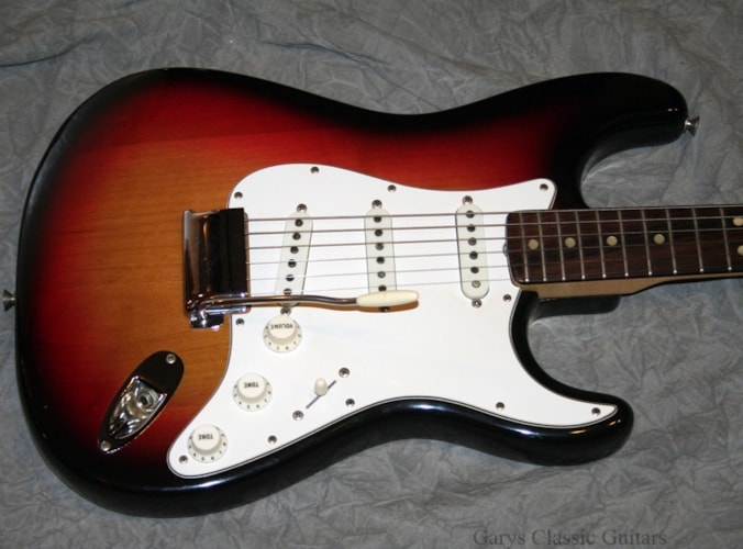 1971 Fender® Stratocaster® (#FEE0614) Sunburst, Excellent, Original Hard, $10,900.00