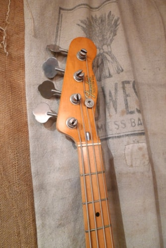 1971 Fender® Telecaster® Bass Sunburst, Very Good, Hard, $2,600.00