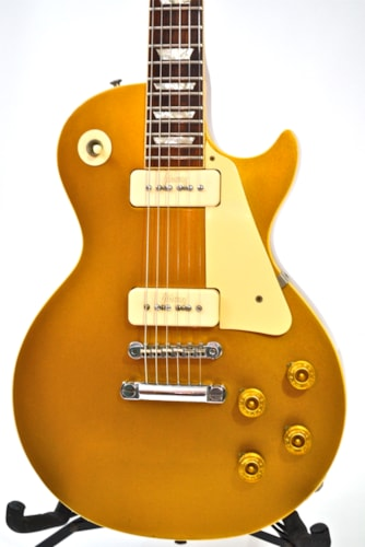 1971 Gibson 58  Les Paul Goldtop Reissue Gold/Mahogany, Excellent, Original Hard