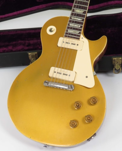 1971 Gibson Les Paul 58 Reissu (1958 Reissue) Goldtop, Very Good, Original Hard