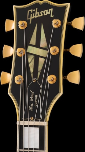 1971 Gibson Les Paul Custom, TIME CAPSULE EXAMPLE, Ebony Finish / Gold Hardware, Original Case