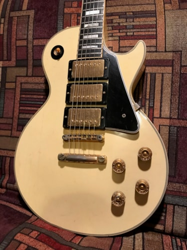 1971 Gibson LES PAUL CUSTOM white, Very Good, Hard, $8,999.00