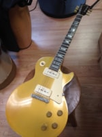 1971 Gibson Les Paul Gold Top '58 Reissue
