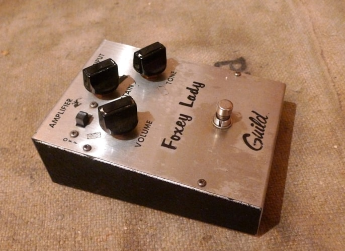 1971 Guild Foxey Lady Very Good, $750.00