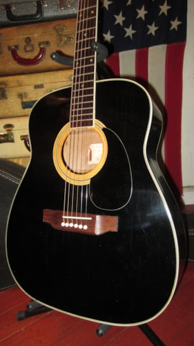 1971 Harmony Sovereign Jumbo Model H6562 Black