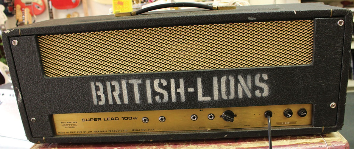 1971 MARSHALL  Super Lead 100 watt Head