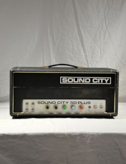 1971 Sound City 50 Plus Amplifier