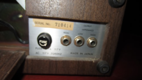 1971 Univox SR-55 Drum Machine Brown, Excellent