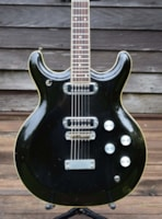 1972 Acoustic / Mosrite Black Widow