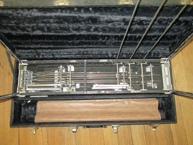 1972 Emmons S-10 Push Pull Pedal Steel Rosewood Mica, Excellent, Hard, $2,600.00