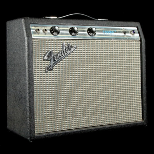 1972 Fender Champ Silverface 1972 Excellent, $549.00