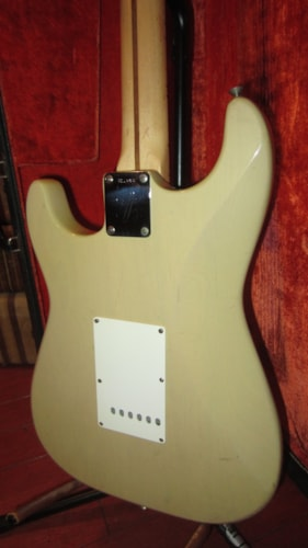 1972 Fender® Stratocaster® Blonde, Excellent, Original Hard, $3,995.00