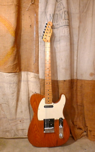 1972 Fender Telecaster Natural - Refin, Good, Hard, $1,750.00