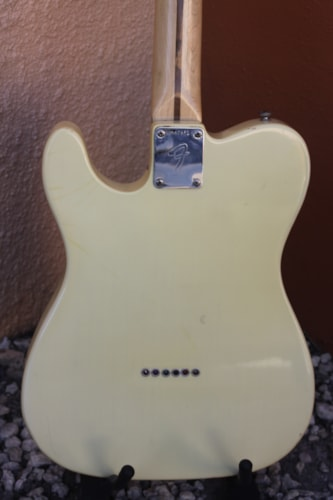 1972 Fender Telecaster Olympic white, Excellent, Original Hard, $4,800.00