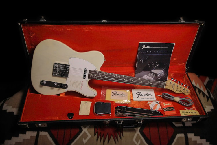 "1972 Fender Telecaster ""See Thru Blonde"", Mint, Original Hard"