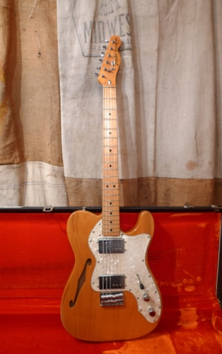 1972 Fender® Telecaster® Thinline Natural, Very Good, Original Hard, $3,750.00