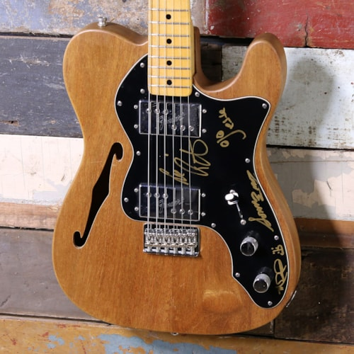 1970's Fender Thinline Telecaster Deluxe Natural Mahogany