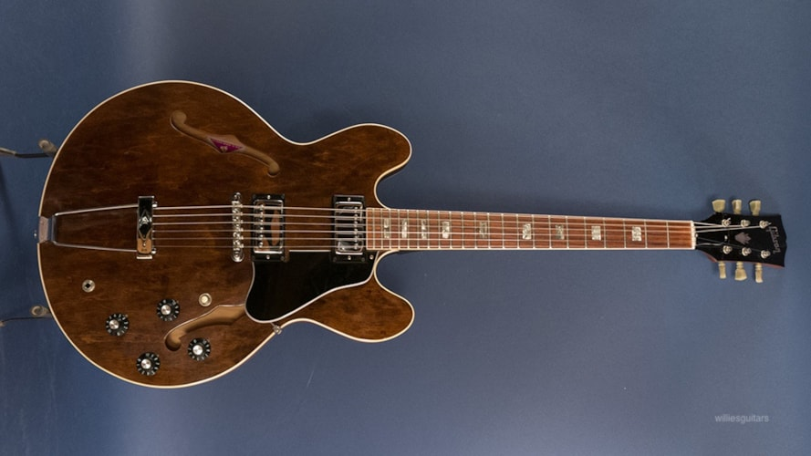 1972 Gibson ES-335TD Walnut, Good, Original Hard