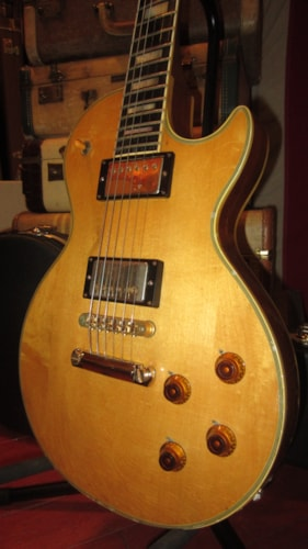 1972 Gibson Les Paul Custom Natural