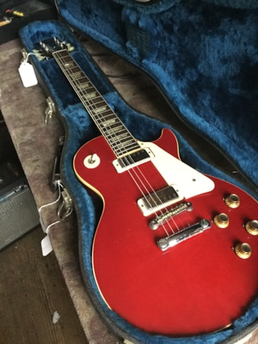 1972 Gibson LES PAUL DELUXE Cherry, Excellent, Original Hard