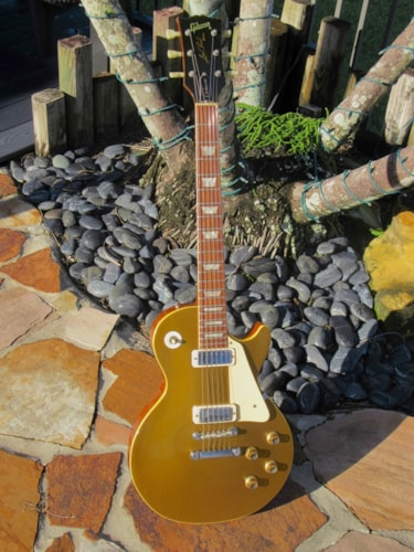 1972 Gibson LES PAUL Deluxe Gold, Brand New, $5,495.00