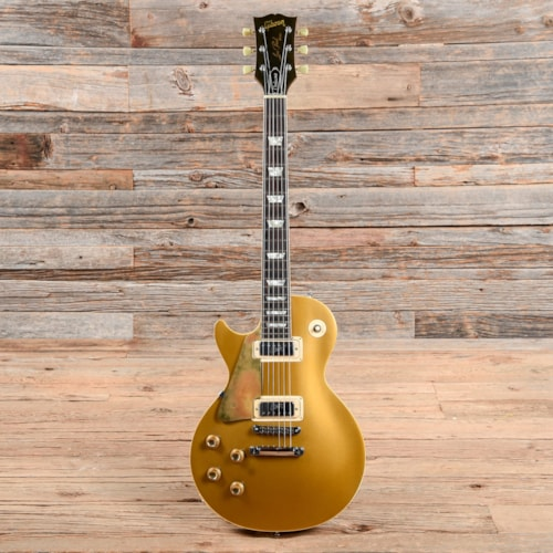 Gibson Les Paul Deluxe Goldtop 1972 LEFTY