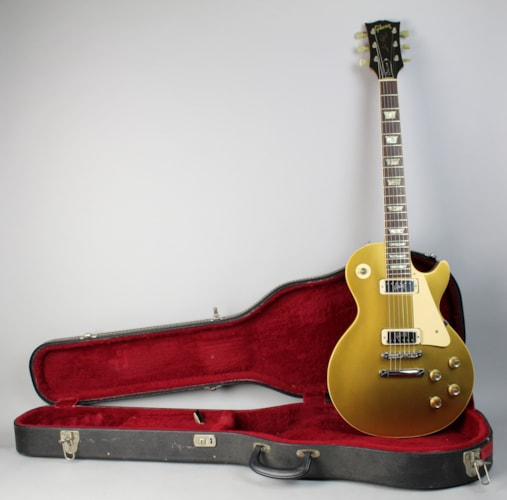 1972 Gibson Les Paul Deluxe Vintage Goldtop All Original Electric Guitar w/OHSC