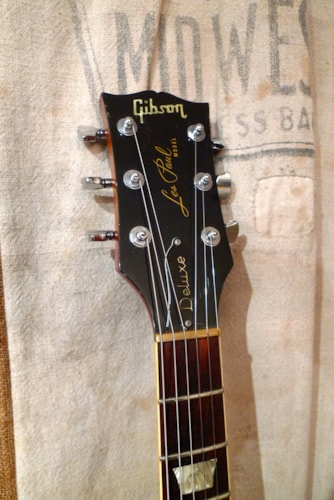 1972 Gibson LES PAUL DELUXE Sunburst, Good, Hard, $2,150.00