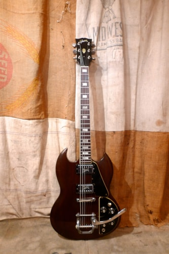 1972 Gibson SG Deluxe Walnut, Very Good, Original Hard, $2,200.00