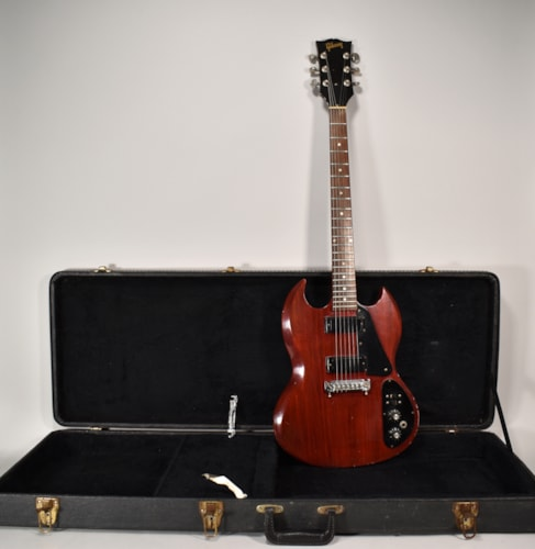1972 Gibson SG II Cherry Red Finish Original Vintage Electric Guitar w/HSC