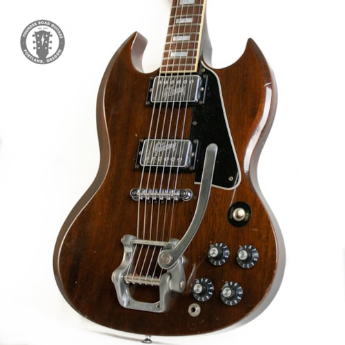 1972 Gibson SG Standard with Patent Number Decal Pickups