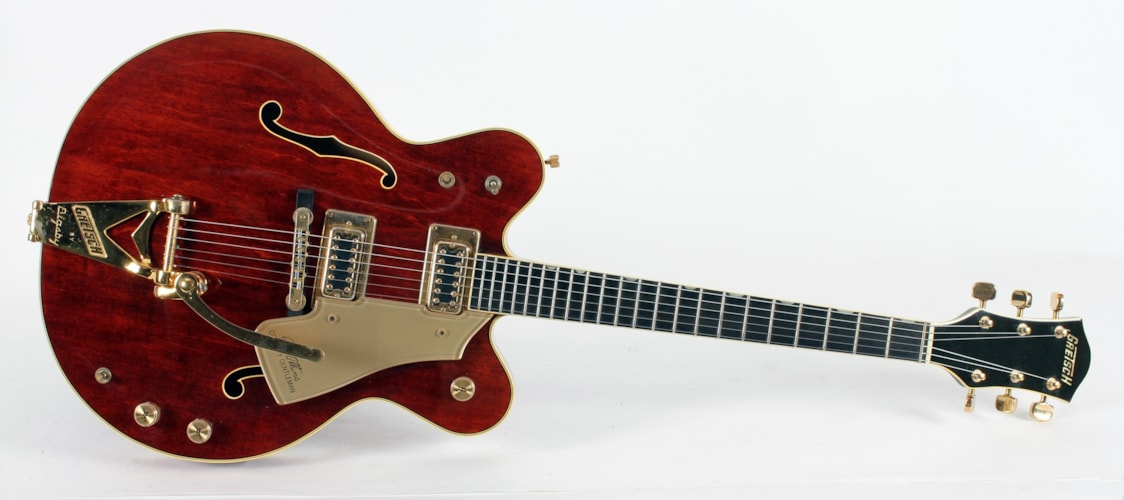 1972 Gretsch Country Gentleman - EXTREMELY FINE Maroon, Excellent, Original Hard, Call For Price!