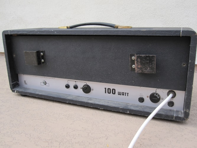 1972 LANEY KLIPP 100w VINTAGE EL34 PLEXI AMP Very Good
