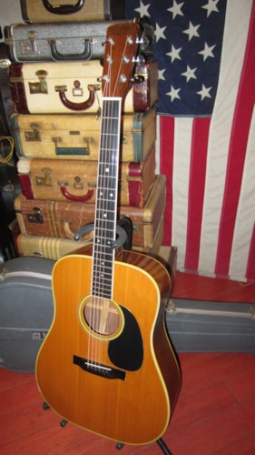 1972 Martin D-35 Dreadnought Acoustic Natural, Excellent, Original Hard